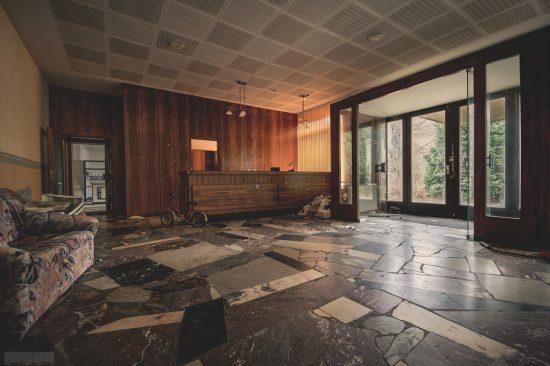 Flohmarkthotel - Trödelmarkthotel - Lost Places Harz - verlassenes Hotel