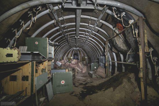 Sanitätsbunker in Brandenburg Lazarettbunker Lost Place verlassene Orte Ostdeutschland