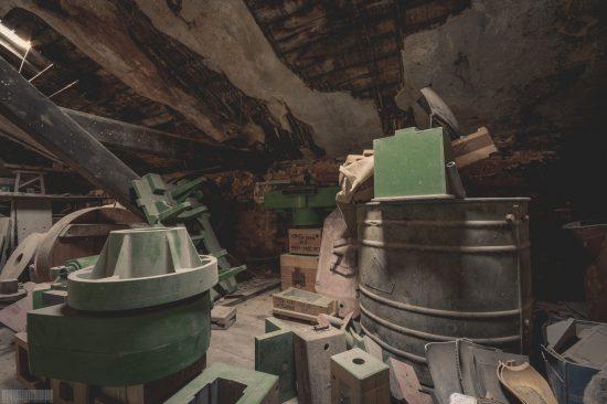 alte verlassene Giesserei in Sachsen - Lost Places Sachsen - ehemaliger VEB Betrieb
