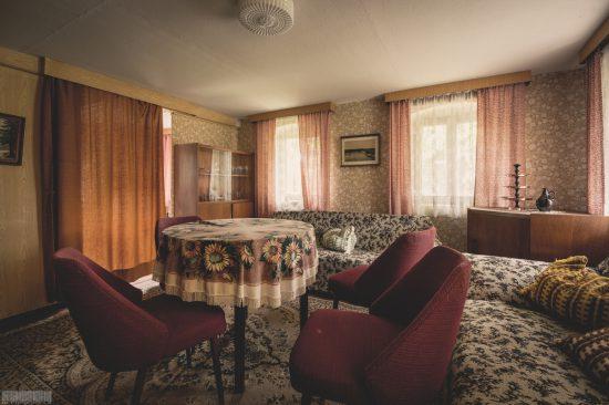 verlassenes Landhaus Harmonie - Lost Places Sachsen - mit Einrichtung