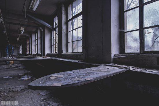Verlassene alte Wäscherei in Sachsen - verlassene Orte in Glauchau - Lost Places Sachsen