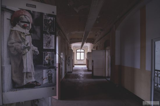 ehemalige T4 Aktion Psychiatrie in Sachsen - Vernichtung von geistig behinderten - NS-Zeiten - Horrorpsychiatrie -Lost Places