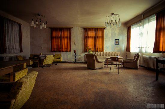 Das verlassene Seniorenheim
